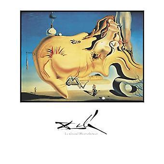 Le Grand Masturbateur Poster Print by Salvador Dali (22 x 28)