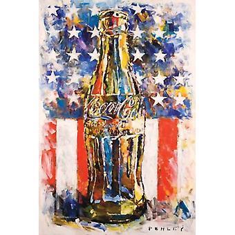 Coca-Cola - Art Poster Poster Print