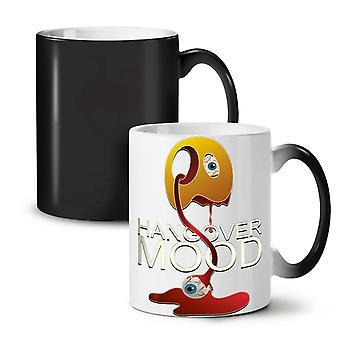 Weird Hangover Cool NEW Black Colour Changing Tea Coffee Ceramic Mug 11 oz | Wellcoda