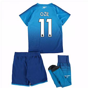 2017-18 Arsenal Away Mini Kit (Ozil 11)