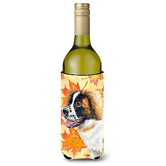 سانت برنارد سقوط زجاجة النبيذ بيفيرجي عازل نعالها