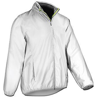 Spiro Mens Reflec-Tex Windproof Hi-Vis Jacket