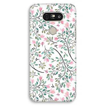 LG G5 volledige Case - Dainty bloemen Print