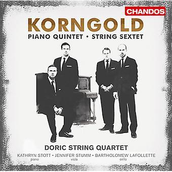 E.W. Korngold - Erich Wolfgang Korngold: Strijksextet; Piano kwintet [CD] USA importeren