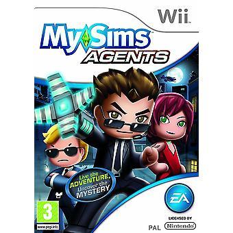 MySims agentów Nintendo Wii gry