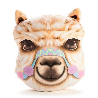 Alpaca Plush Cushion