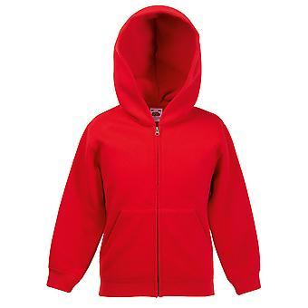Fruit de la Loom Kids Premium 70/30 Hooded Sweat Jacket
