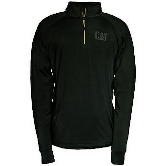 CAT Workwear Mens Contour Polyester Elasthane 1/4 Zip Sweatshirt