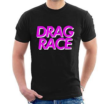 Vedä Race Pink Font t-paidat