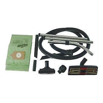 Numatic Vacuum Cleaner 2.5m Hose and Tool Kit with 10 x Paper Dust Bags