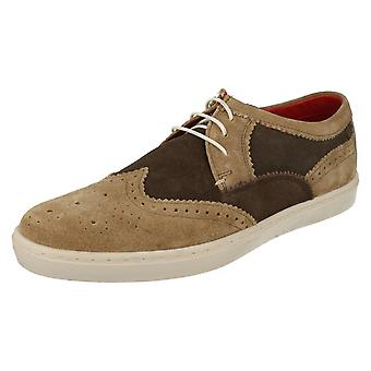 Mens Base London Smart/Casual Brogues Anglo