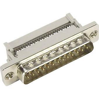 Harting 09 66 128 7700-SUB enchufe 180 º número de pernos: 9 corte y Clip 1 PC
