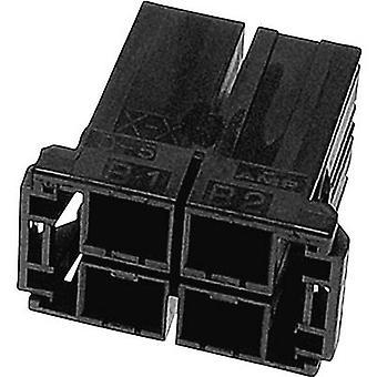Invólucro de TE conectividade soquete - número Total de séries de cabo dinâmico 5000 de pinos 6 1-917807-3 1 computador (es)