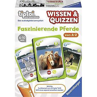 Ravensburger tiptoi® viden & Quizzen: fascinerende heste