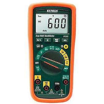 Extech EX350 Handheld multimeter Digital CAT III 600 V Display (counts): 4000