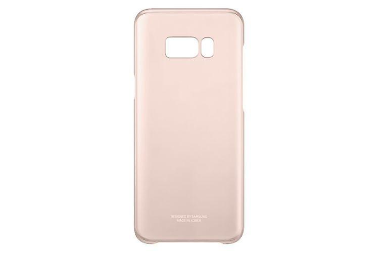 Samsung clear cover EF-QG955 for Samsung G955F S8 pink plus