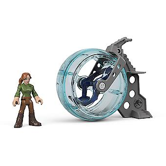 Imaginext Jurassic World Claire & Gyrosphere