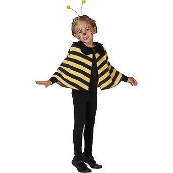 Bienen Cape Umhang Kinder Kostüm für Mädchen