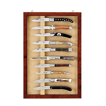 Wall-hanging 10 knives display Direct from France