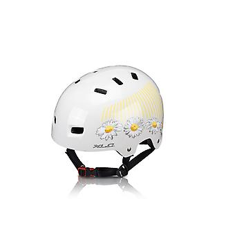 Casque de vélo (zone urbaine) XLC-soutien-gorge-C22 / / crème (fleur)