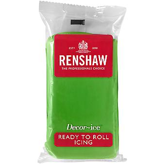 Renshaw Lincoln Green Ready to Roll Fondant Icing