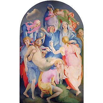 Dépôt, Jacopo Pontormo, 60x40cm