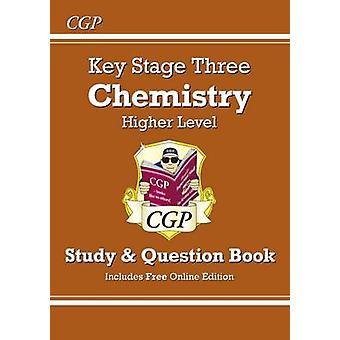 KS3 Kjemi studie & spørsmål bok (med nettutgave) - høyere ved