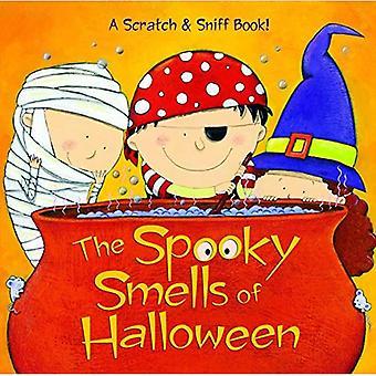 De griezelige geuren van Halloween (geurende Storybook)