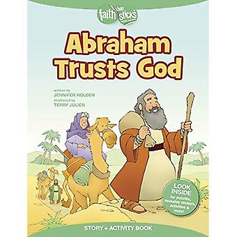 Abraham vertraut Gott (glauben, die Sticks)