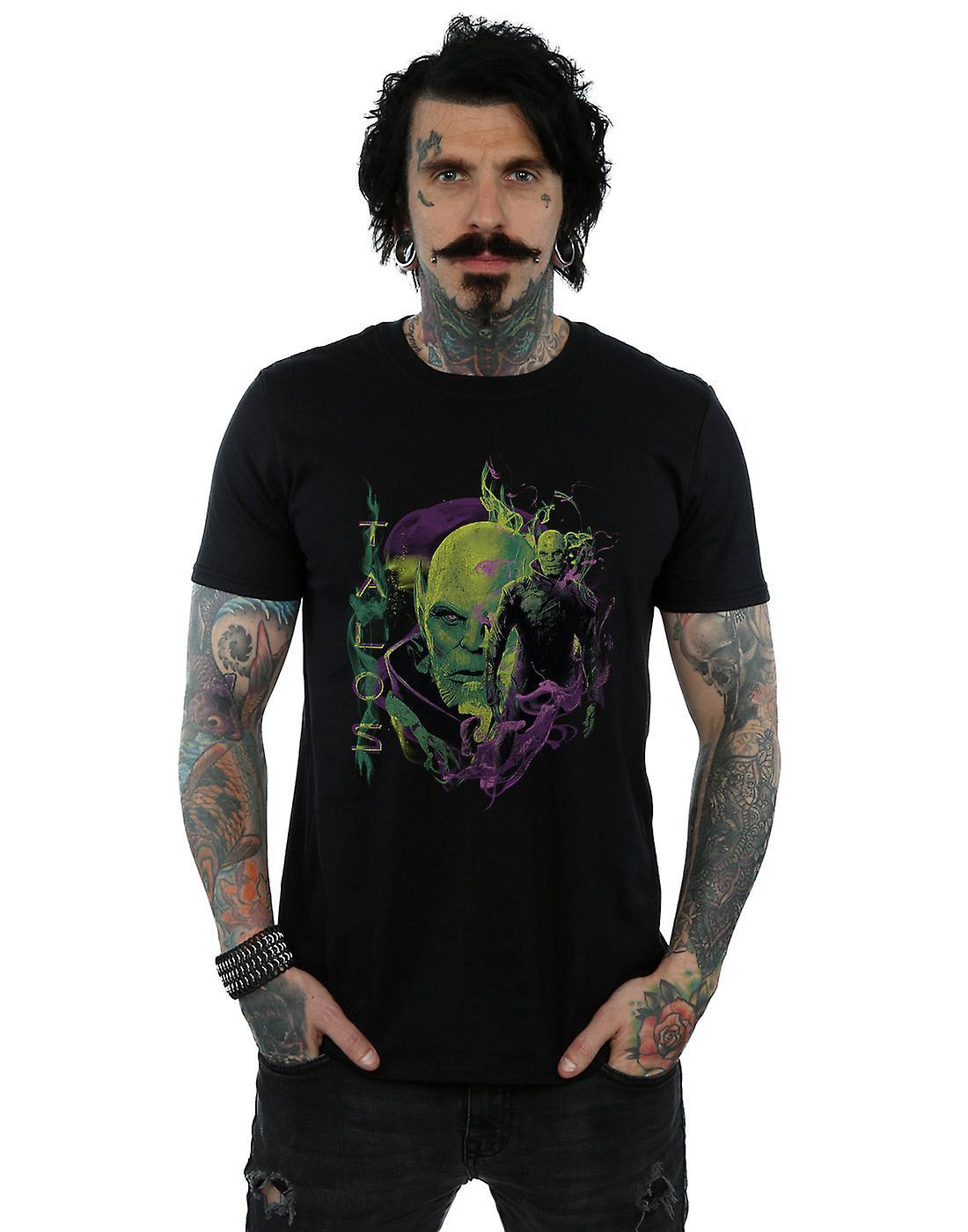 Marvel Men's Captain Marvel Talos Smoke T-Shirt