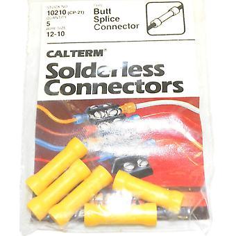 Calterm 10210 (CP-21) filo taglia 12-10 Butt Splice connettore un PKG da 5 pz
