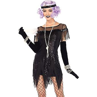 Flapper Foxtrot Flirt Costume For Women