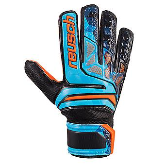 Reusch Prisma SD LTD Mens Goalkeeper Goalie Glove Black/Blue/Orange