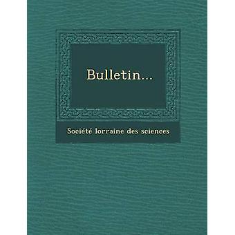 Bulletin... door Societe Lorraine Des Sciences