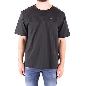 Diesel Black Gold Ezbc065033 Uomo's Nero Cotone T-shirt