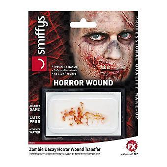 Halloween e horror halloween ferida transferência de fx