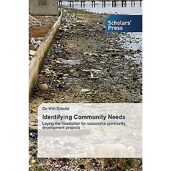 Identifying Community Needs by Schutte De Wet