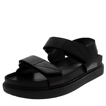 Womens Vagabond Grace Black Leather Fashion Work Block Heel Ankle Boots
