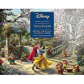 Disney Dreams collezione Thomas Kinkade Studios Disney Princess Coloring Book
