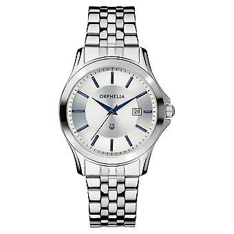 ORPHELIA Mens analoog horloge Galaxy Silver roestvrij staal 153-7709-88