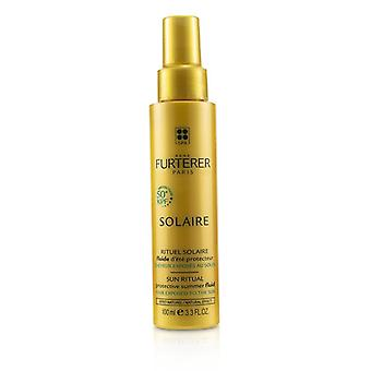 Rene Furterer Solaire Sun Ritual Protective Summer Fluid (hair Exposed To The Sun Natural Effect) - 100ml/3.3oz