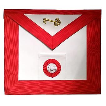 Masonic Scottish Rite leather Masonic apron - AASR - 7th degree
