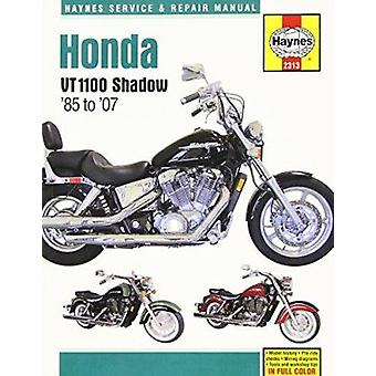 Honda VT1100 Shadow Service and Repair Manual by Editors of Haynes Ma