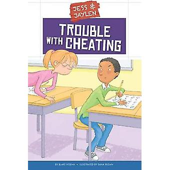 Trouble with Cheating by Blake Hoena - Dana Regan - 9781631434426 Book