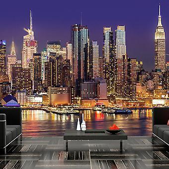 Fototapetti - NYC: Night City