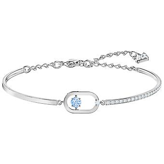 Swarovski North Bracelet - Blue - Rhodium Plating