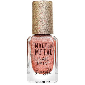 Barry M Molten Metal Nail Polish Collection - Holographic Sunburst (MTNP14) 10ml