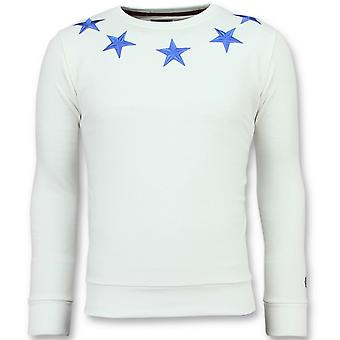 Five Stars -  Sweater - 6354W - Wit