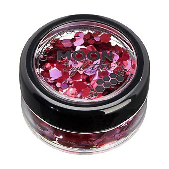Mystic Chunky Glitter by Moon Glitter – 100% Cosmetic Glitter for Face, Body, Nails, Hair and Lips - 3g - Valentines