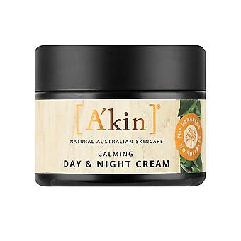 A'kin Sensible rcalming Day & Nachtcreme natürliche beruhigende Hautpflege Lotion 50ml